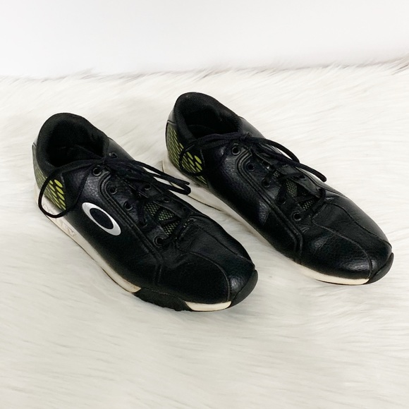 Oakley Other - Oakley | Black Leather Athletic Golf Shoes SZ 9